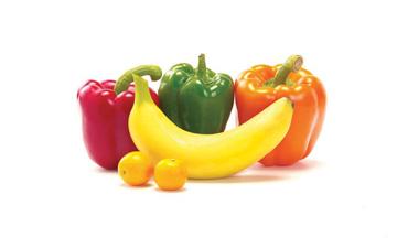 п'ять порцій фруктів та овочів зробить вас здоровішими