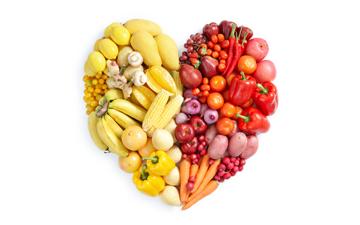 слід вживати принаймні п'ять порцій фруктів та овочів на день