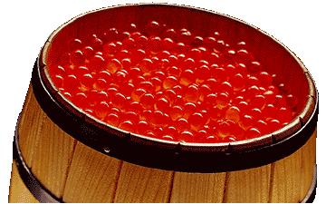 якісна червона ікра є надзвичайно корисним продуктом
