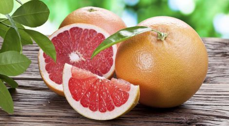 Грейпфрут знижує рівень холестерину
