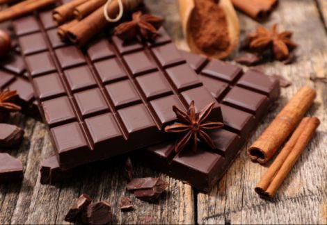 Натуральний чорний шоколад