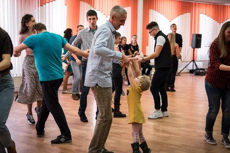Танці людей