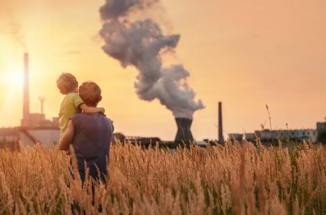 Забруднене повітря та депресія