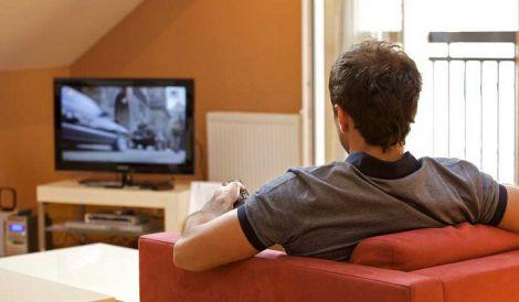 Шкода перегляду телевізора для чоловіків
