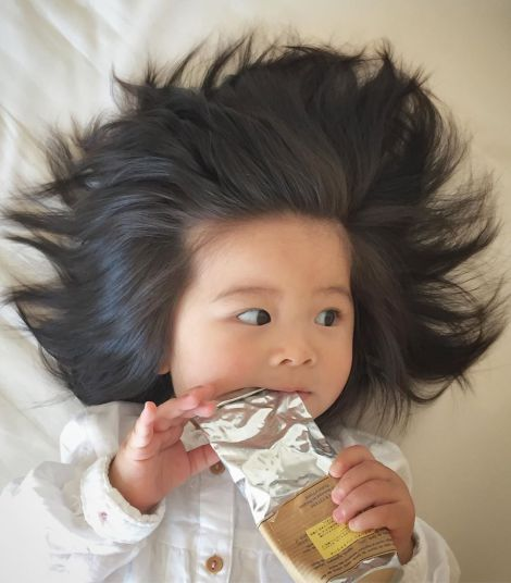 Новим обличчям рекламної кампанії Pantene стала дитинка!