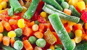 овочі, які корисно їсти замороженими