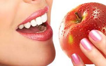 яблука та морква природні зміцнювачі зубів