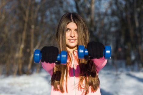 Зимове тренуванння