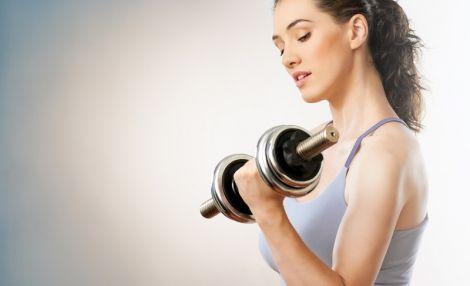 Тренування з гантелями для жінок