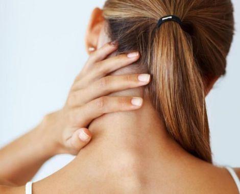 Сольові відкладення у шиї
