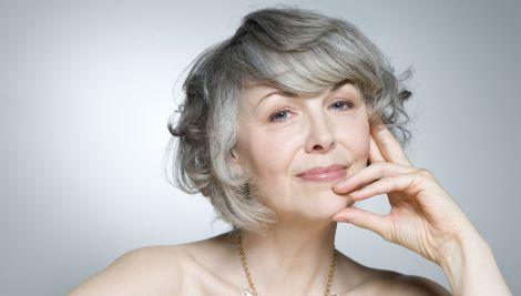 Основні причини появи сивого волосся