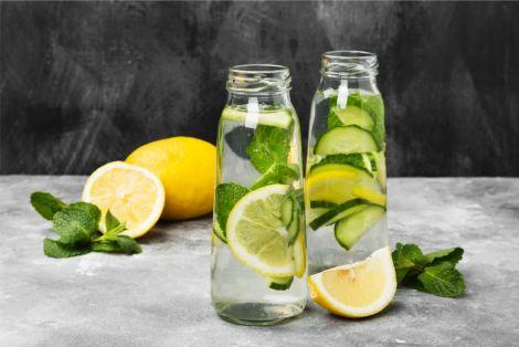 Лимонна вода для здорового серця