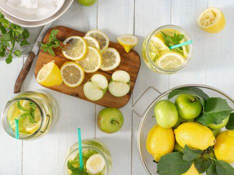 Корисна лимонна вода