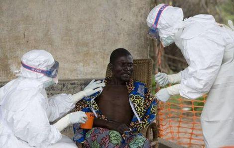 Ебола вбиває людей в Конго