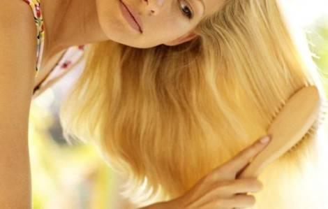 Ромашка корисна для світлого волосся