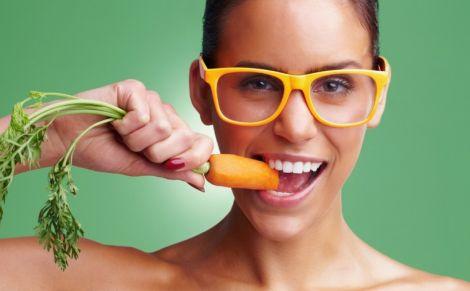 Вживання морки покращує зір
