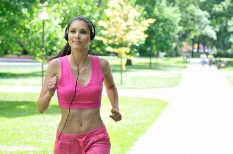 Під час бігу худнуть