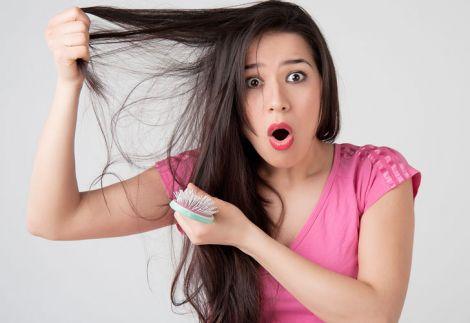 Випадіння волосся провокує стрес
