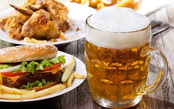 Пиво та гамбургери можуть бути корисими для серця