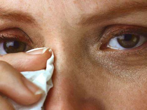 Причини надмірної сльозотечі
