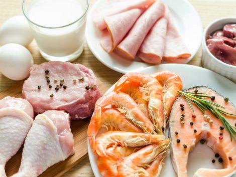 Корисний білок у продуктах