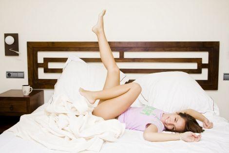 Йога в ліжку дуже корисна
