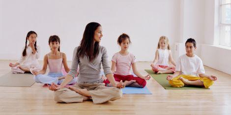 Йога для школярів