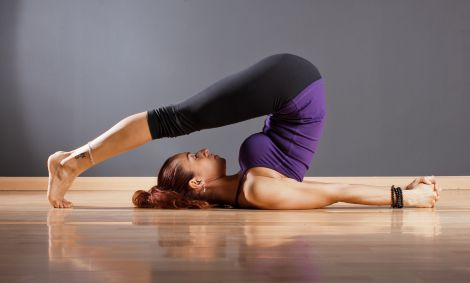 Йога для талії