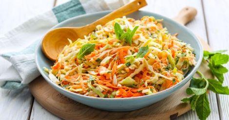 Салат з імбиру, родзинок і моркви