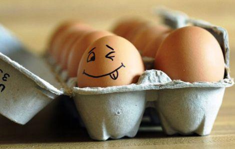 Користь курячих яєць для дітей
