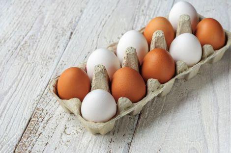 Миття яєць перед вживанням