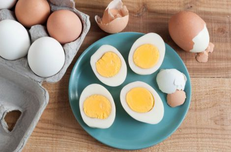 Смерть від вживання яєць