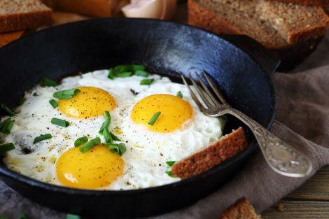 Смажені яйця