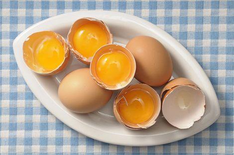 Шкода яєць для зубів