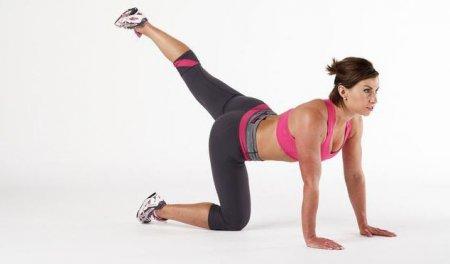 Три вправи для струнких ніжок