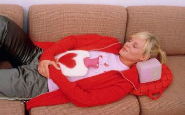 Полегшуємо болі при менструаціях