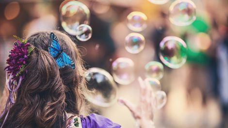 Шкода мильних бульбашок