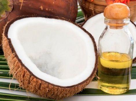 Кокосове масло для обличчя