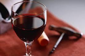 Вино в бокалі