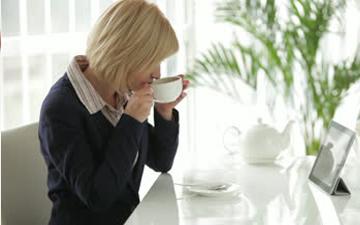 чай з медом збереже зір