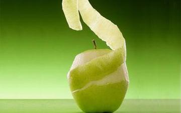 яблучна шкірка врятує від зайвої ваги