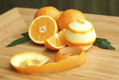 Корисна апельсинова шкірка