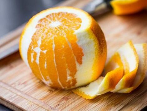 Користь апельсинової шкірки для здоров'я