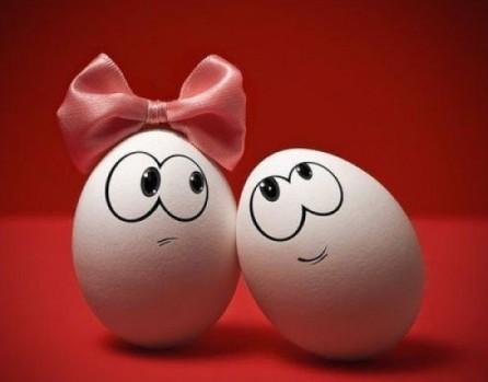 Маска і шампунь в одному яйці