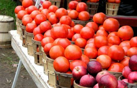 Яблука і томати очистять легені
