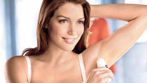 Користування дезодорантом