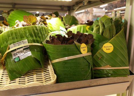 Користь бананового листя