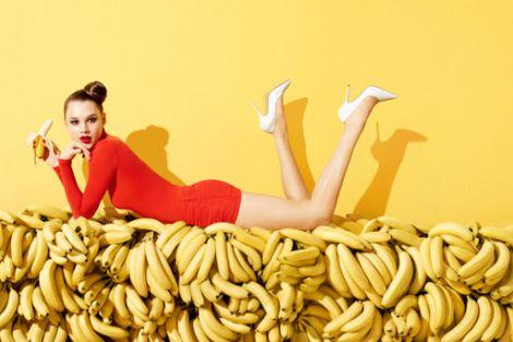Банан - найкращий фрукт від зморшок
