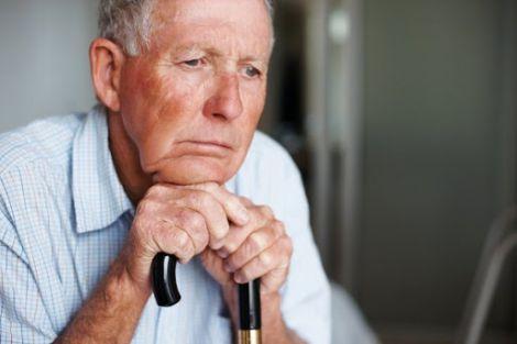 Самотня чоловіча старість