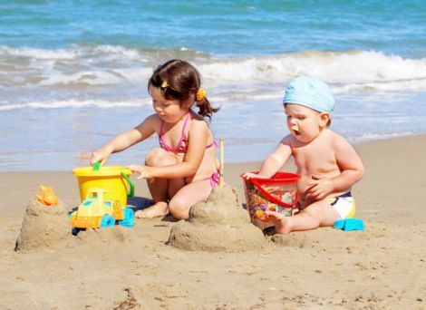 Лікування сонячних опіків у дітей